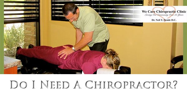Do I Need A Chiropractor Or Just a Massage - We Care