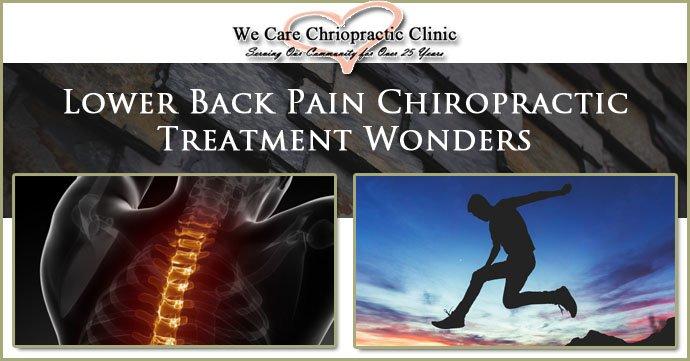 Lower Back Pain Chiropractic Treatment Wonders