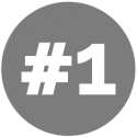 gray-number-1-icon